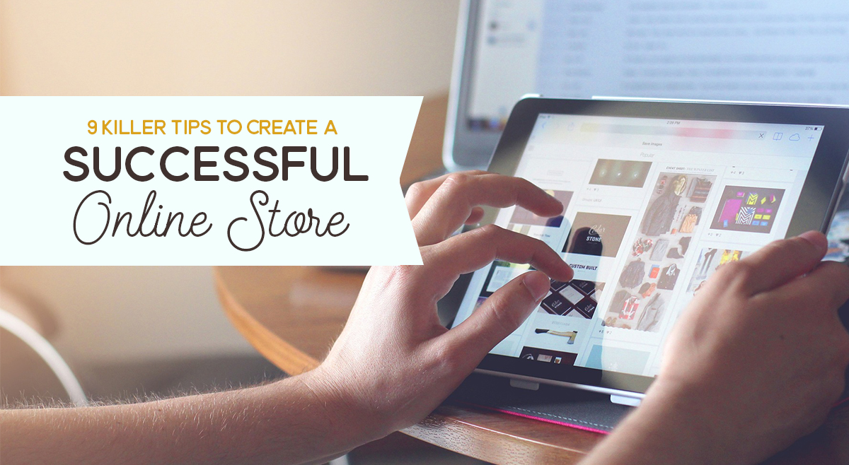 Creating an online store 84