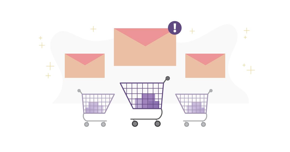 ecommerce abandoned cart emails