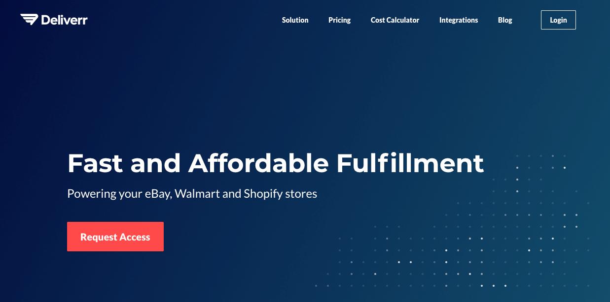 Deliverr FBA Alternative for Walmart, eBay