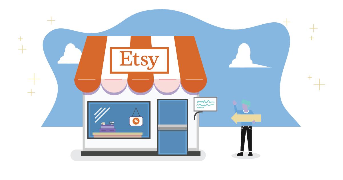 full time etsy shops