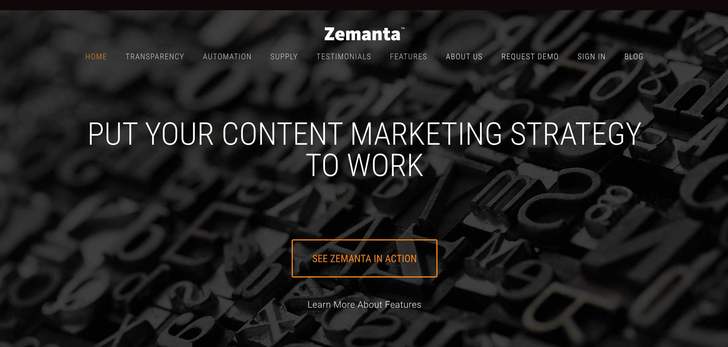 Zemanta paid content marketing tool