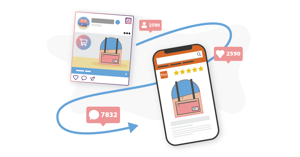 How to Drive Traffic to your Etsy Shop using Instagram