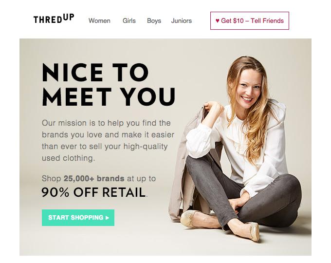 thredup welcome email crop
